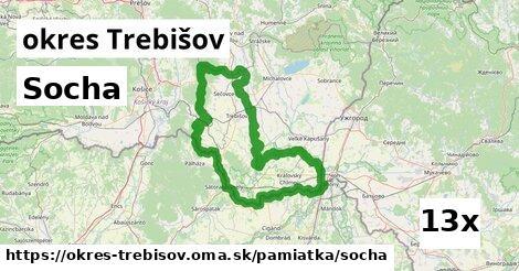 Socha, okres Trebišov