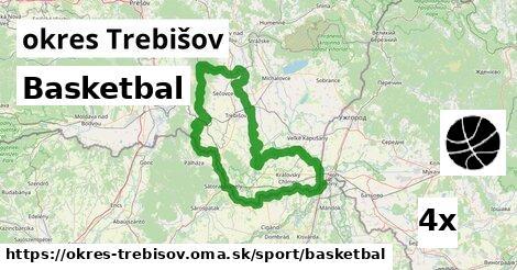 ilustračný obrázok k Basketbal, okres Trebišov