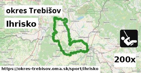 ilustračný obrázok k Ihrisko, okres Trebišov