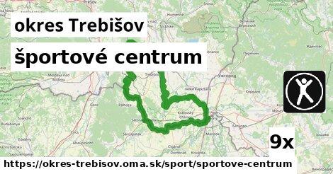 ilustračný obrázok k športové centrum, okres Trebišov