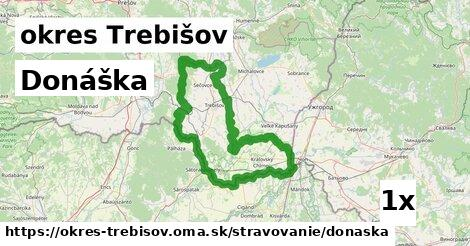 ilustračný obrázok k Donáška, okres Trebišov
