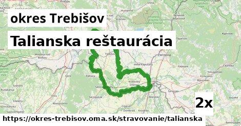 ilustračný obrázok k Talianska reštaurácia, okres Trebišov