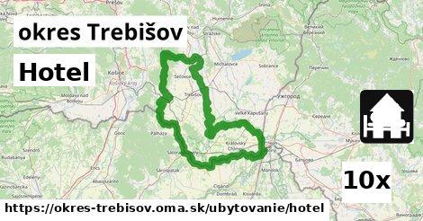 Hotel, okres Trebišov