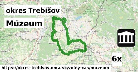 Múzeum, okres Trebišov