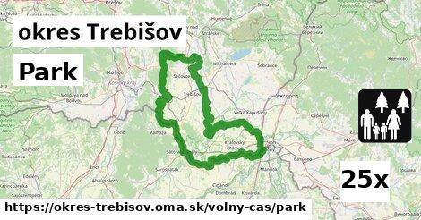 Park, okres Trebišov