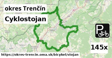 cyklostojan v okres Trenčín