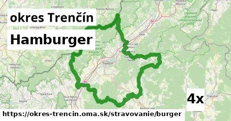 hamburger v okres Trenčín