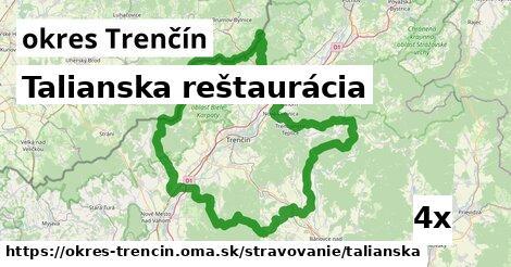 talianska reštaurácia v okres Trenčín