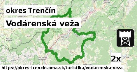 ilustračný obrázok k Vodárenská veža, okres Trenčín