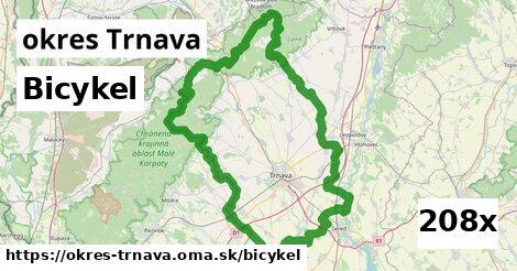 bicykel v okres Trnava