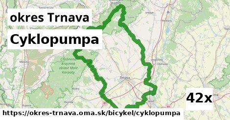 ilustračný obrázok k Cyklopumpa, okres Trnava