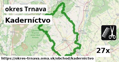 ilustračný obrázok k Kaderníctvo, okres Trnava