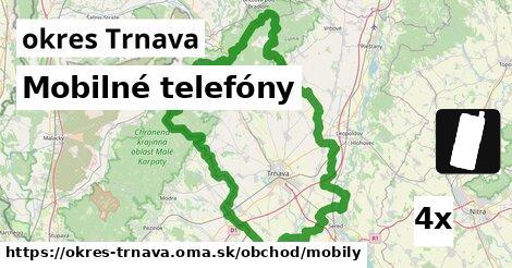 ilustračný obrázok k Mobilné telefóny, okres Trnava