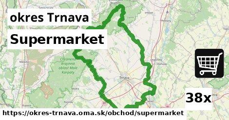 supermarket v okres Trnava