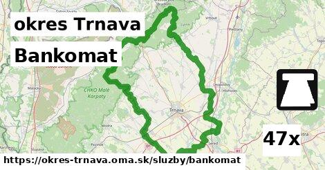 ilustračný obrázok k Bankomat, okres Trnava