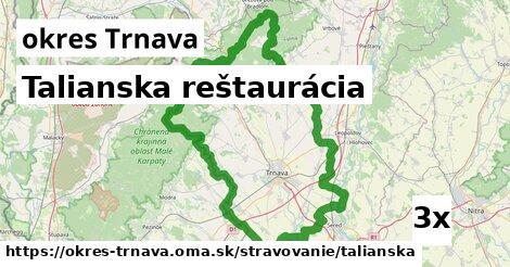 talianska reštaurácia v okres Trnava