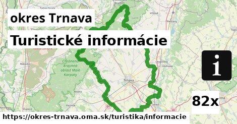 turistické informácie v okres Trnava