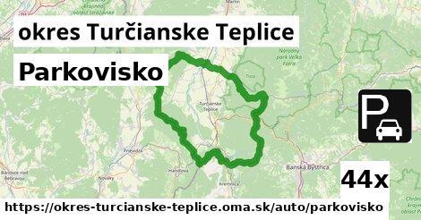 ilustračný obrázok k Parkovisko, okres Turčianske Teplice