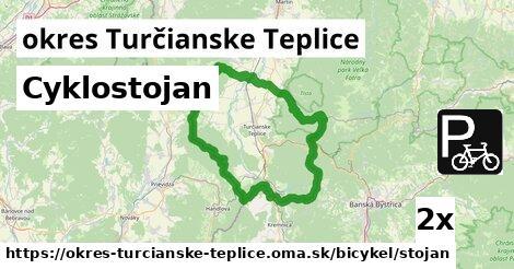 ilustračný obrázok k Cyklostojan, okres Turčianske Teplice
