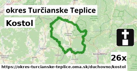 ilustračný obrázok k Kostol, okres Turčianske Teplice