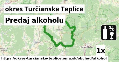 ilustračný obrázok k Predaj alkoholu, okres Turčianske Teplice