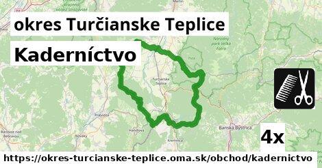 ilustračný obrázok k Kaderníctvo, okres Turčianske Teplice