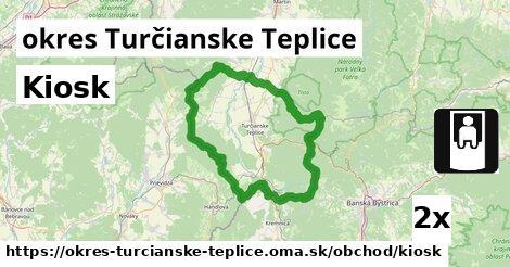 ilustračný obrázok k Kiosk, okres Turčianske Teplice