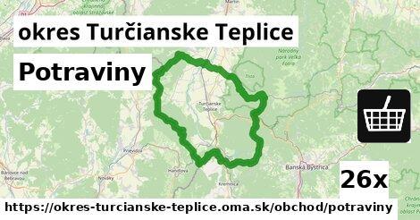 ilustračný obrázok k Potraviny, okres Turčianske Teplice