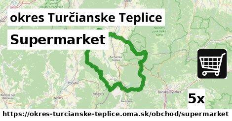 ilustračný obrázok k Supermarket, okres Turčianske Teplice