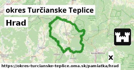 ilustračný obrázok k Hrad, okres Turčianske Teplice