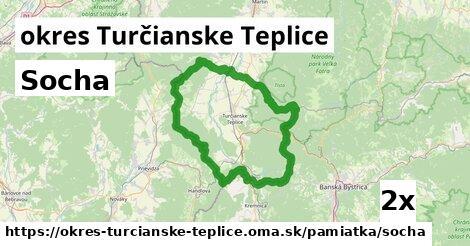 ilustračný obrázok k Socha, okres Turčianske Teplice