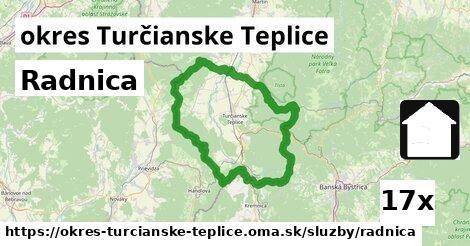 ilustračný obrázok k Radnica, okres Turčianske Teplice