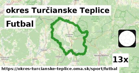 ilustračný obrázok k Futbal, okres Turčianske Teplice