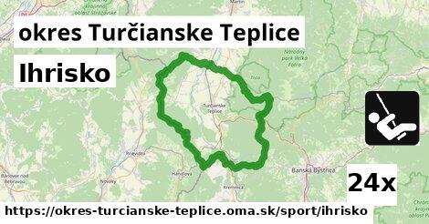 ilustračný obrázok k Ihrisko, okres Turčianske Teplice