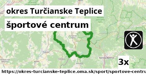 ilustračný obrázok k športové centrum, okres Turčianske Teplice
