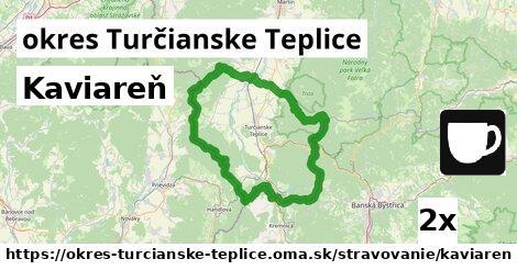 ilustračný obrázok k Kaviareň, okres Turčianske Teplice