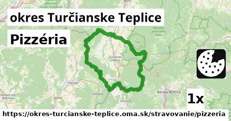 ilustračný obrázok k Pizzéria, okres Turčianske Teplice