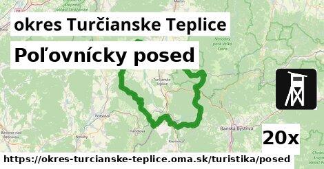 ilustračný obrázok k Poľovnícky posed, okres Turčianske Teplice
