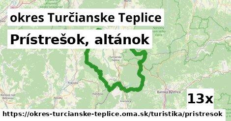 ilustračný obrázok k Prístrešok, altánok, okres Turčianske Teplice