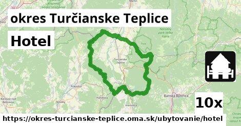 ilustračný obrázok k Hotel, okres Turčianske Teplice