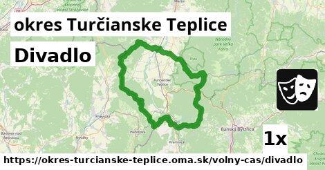 ilustračný obrázok k Divadlo, okres Turčianske Teplice