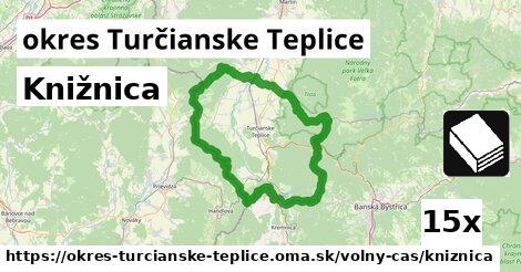 ilustračný obrázok k Knižnica, okres Turčianske Teplice