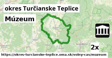 ilustračný obrázok k Múzeum, okres Turčianske Teplice