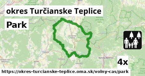 ilustračný obrázok k Park, okres Turčianske Teplice