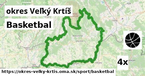 ilustračný obrázok k Basketbal, okres Veľký Krtíš