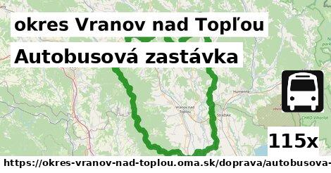ilustračný obrázok k Autobusová zastávka, okres Vranov nad Topľou