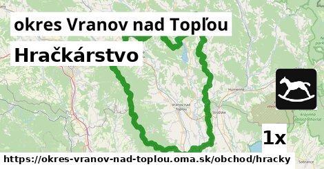 ilustračný obrázok k Hračkárstvo, okres Vranov nad Topľou
