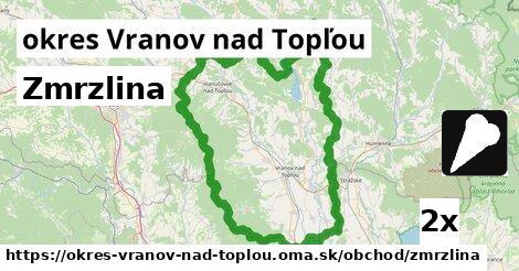ilustračný obrázok k Zmrzlina, okres Vranov nad Topľou