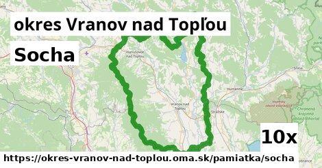 ilustračný obrázok k Socha, okres Vranov nad Topľou