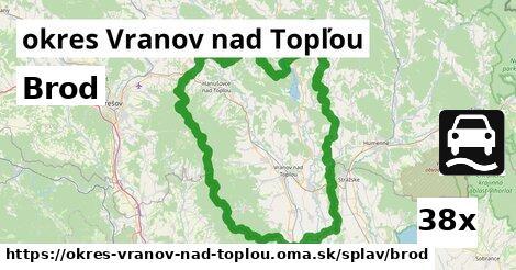 ilustračný obrázok k Brod, okres Vranov nad Topľou